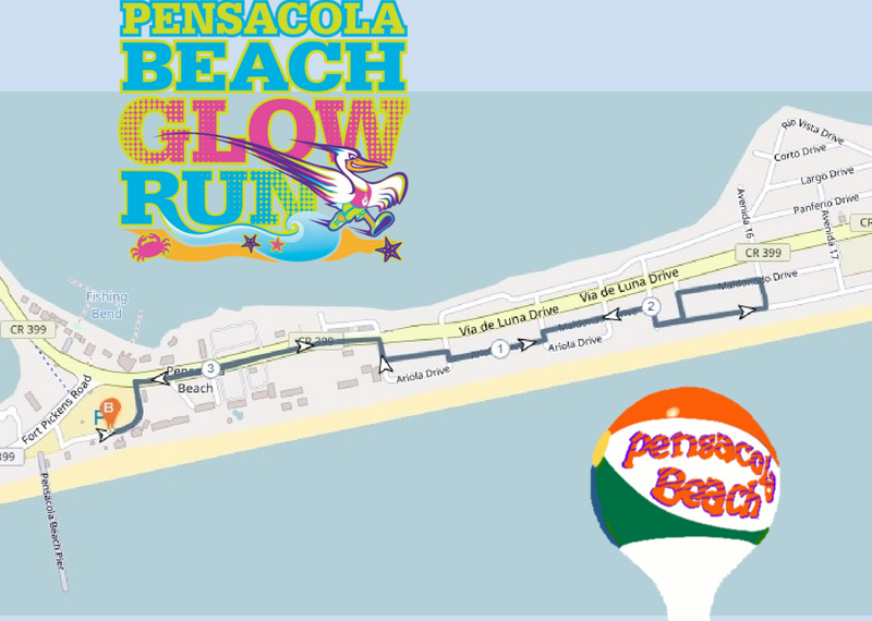 Glow Run Race Course