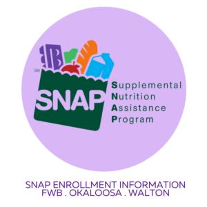 FWB SNAP Enrollment Information Button
