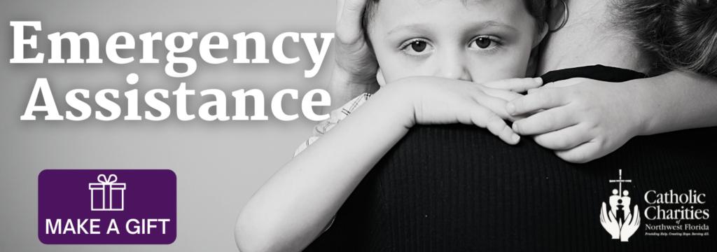 Emergency Assistance website header