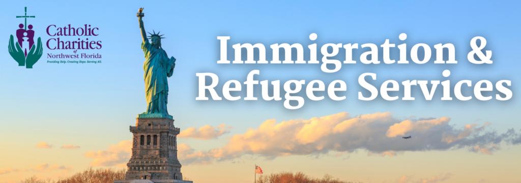 Immigration website header