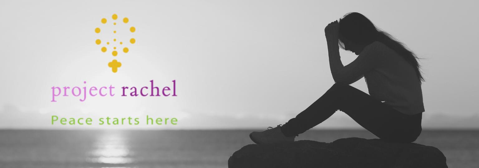 Project Rachel website header
